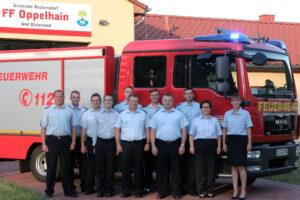 Gruppenfoto Freiwillige Feuerwehr Oppelhain